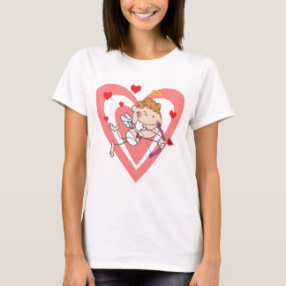 Cute and Loving Cupid Angel T-Shirt