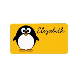 Cute and Modern Cartoon Penguin