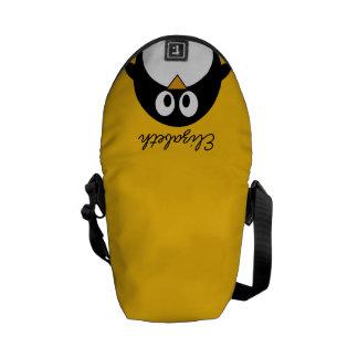 Cute and Modern Cartoon Penguin Messenger Bags