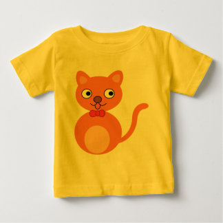 Cute and Orange Cat Baby T-Shirt