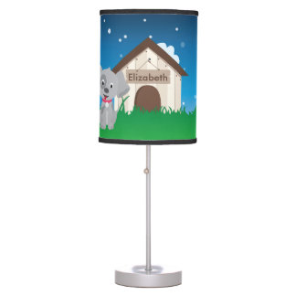 Cute and Playful Puppy or Dog Table Lamp