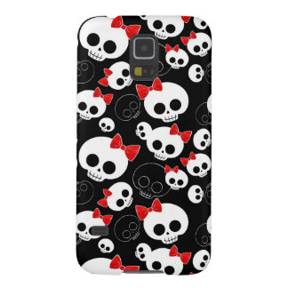 Cute and Scary Skulls Galaxy S5 Case