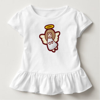 Cute and Simple Christmas Angel | Ruffle Tee