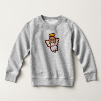 Cute and Simple Christmas Angel | Sweatshirt