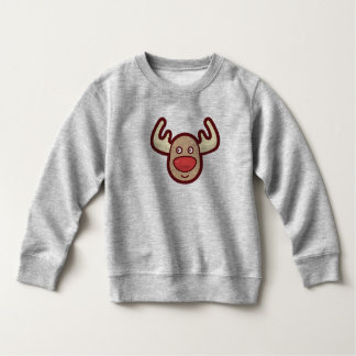 Cute and Simple Rudolf Reindeer | Sweatshirt