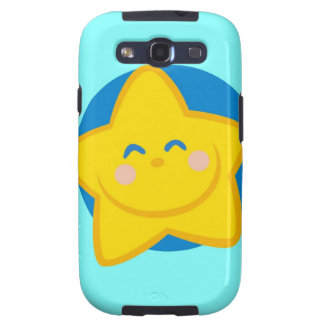 Cute and Smiling Star, For Baby Boy Galaxy S3 Cover
