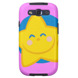Cute and Smiling Star, For Baby Girl Samsung Galaxy SIII Case