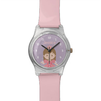 Cute and Sweet Princess Girl Personalized Watch