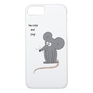 Cute and tiny mouse iPhone 7 case
