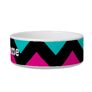 Cute and trendy chevron pattern bowl