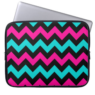 Cute and trendy chevron pattern laptop sleeves