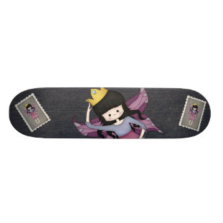 Cute and Whimsical Little Fairy Princess Girl Skateboards