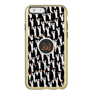 Cute and Whimsical Piles of Penguins Incipio Feather® Shine iPhone 6 Case