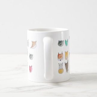 Cute and Whimsy animal characters patterned CUP
