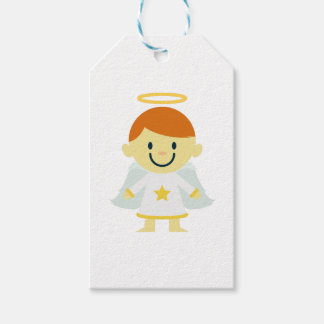 Cute Angel Boy with Halo Gift Tags