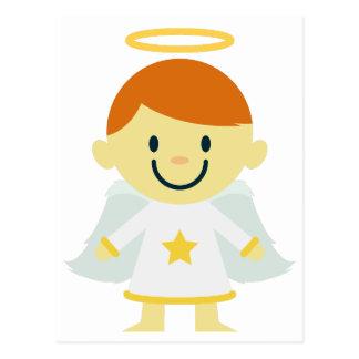 Cute Angel Boy with Halo Postcard
