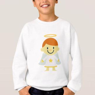 Cute Angel Boy with Halo Sweatshirt