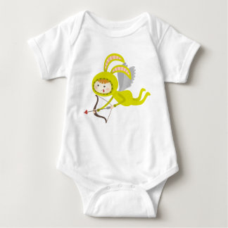 Cute Angel Bunny Baby Bodysuit