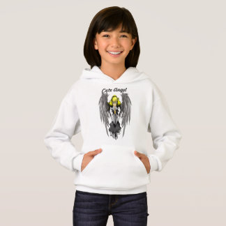 Cute Angel Girls' Hanes ComfortBlend® Hoodie