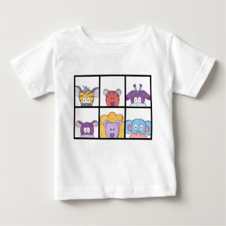 Cute Animal Baby T-Shirt