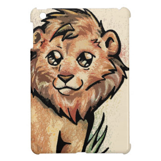 Cute Animal:  Lion iPad Mini Cover