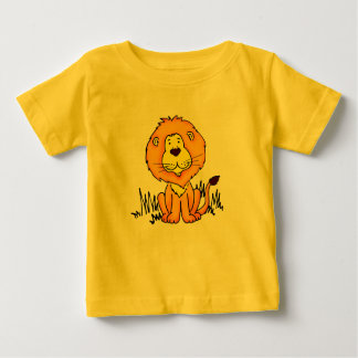 Cute animal Lion kids t-shirt