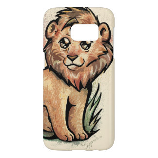 Cute Animal:  Lion Samsung Galaxy S7 Case
