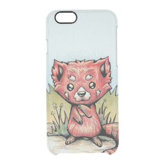 Cute Animal:  Red Panda Clear iPhone 6/6S Case