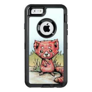 Cute Animal:  Red Panda OtterBox Defender iPhone Case