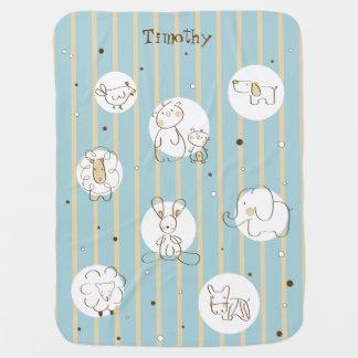 Cute Animals Baby Blanket