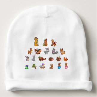 Cute Animals Baby Cotton Beanie Baby Beanie