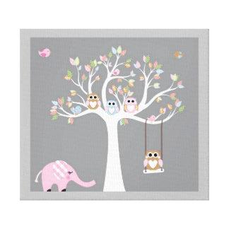 Cute Animals Canvas Print