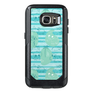 Cute animals playing with water 1 OtterBox samsung galaxy s7 case