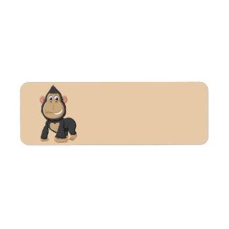 Cute Animated Gorilla