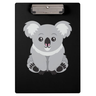 Cute animated Koala Bear Clipboards