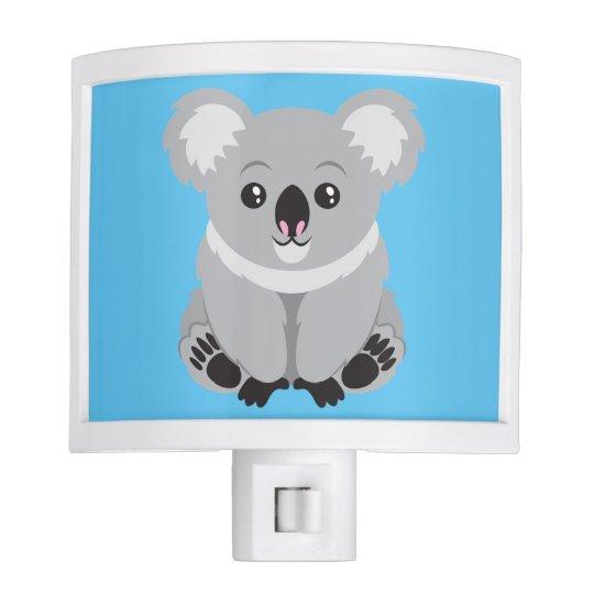 Cute Animated Koala Bear Nite Lights