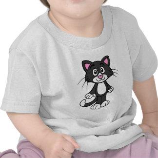 Cute animation cartoon cat illustration t shirts