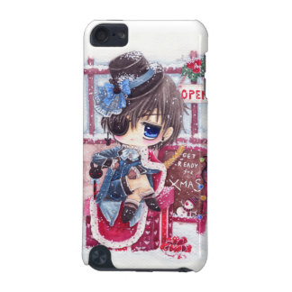 Cute anime boy with eye patch iPod touch 5G cover