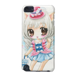 Cute anime cat girl iPod touch (5th generation) cases