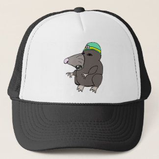 Cute Anime Mole Trucker Hat