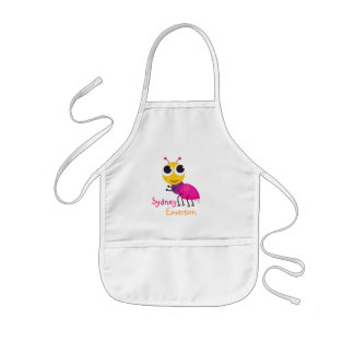 Cute Ant Kids Apron