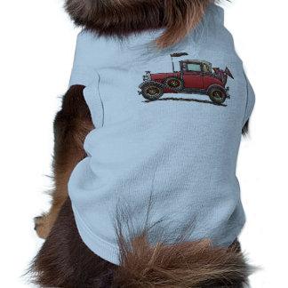 Cute Antique Car Doggie T Shirt