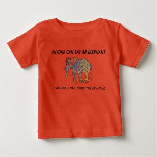 CUTE ANYONE CAN EAT AN ELEPHANT TSHIRT