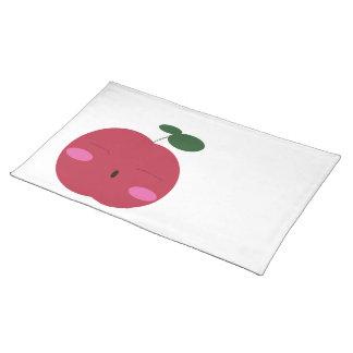🍎Cute Apple ~ かわいいりんご. Placemat