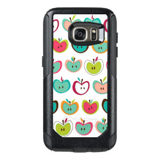 Cute apple pattern OtterBox samsung galaxy s7 case
