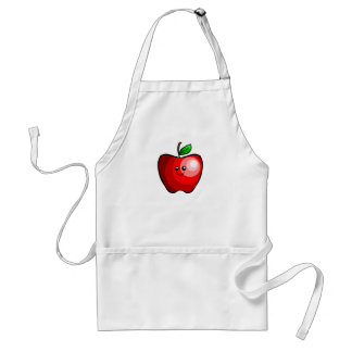 Cute Apple Standard Apron