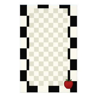 Cute Apple Stationery