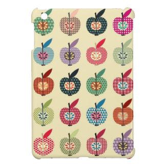 Cute Apples in Retro Style Case For The iPad Mini