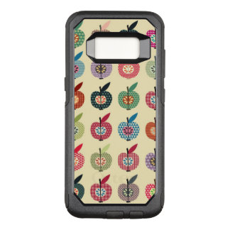 Cute Apples in Retro Style OtterBox Commuter Samsung Galaxy S8 Case