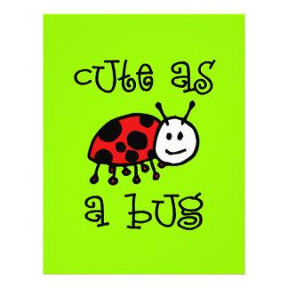 Cute as a Bug Custom Letterhead